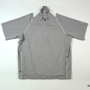 Adidas Golf ClimaProof S/S Wind Jacket Half Zip L